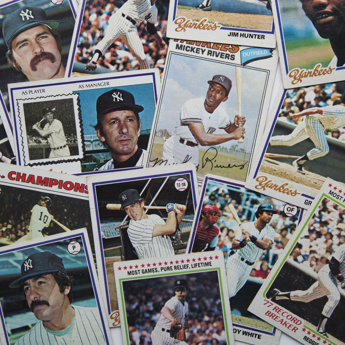 Baseball card production runs are no where close to where they were in the '80s and '90s, says David Leiner, the global general manager of sports and entertainment for Topps.
