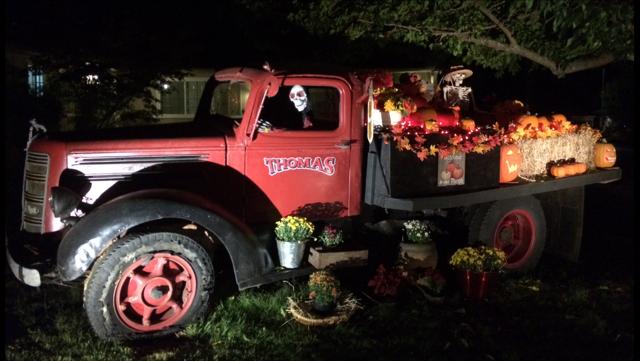 Autumn truck