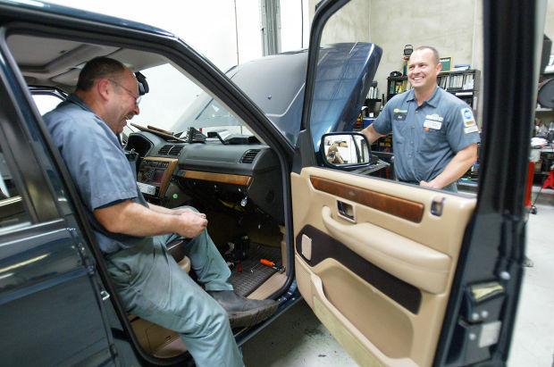 Ian Rogers drives business at auto repair shop   Napa ...