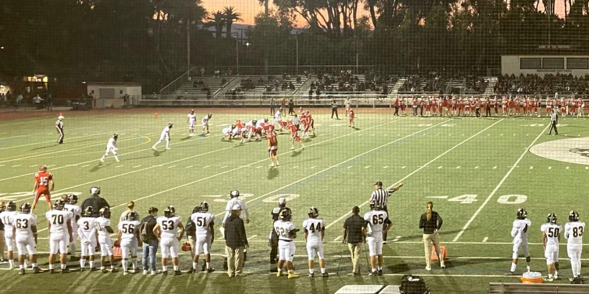 American Canyon football at Burlingame