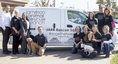Ver Toyota Donates Rescue Van To Local Group Napa S Dealership
