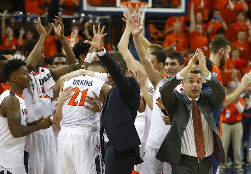 Virginia is unanimous No. 1 in AP Top 25; Michigan up to 7th
