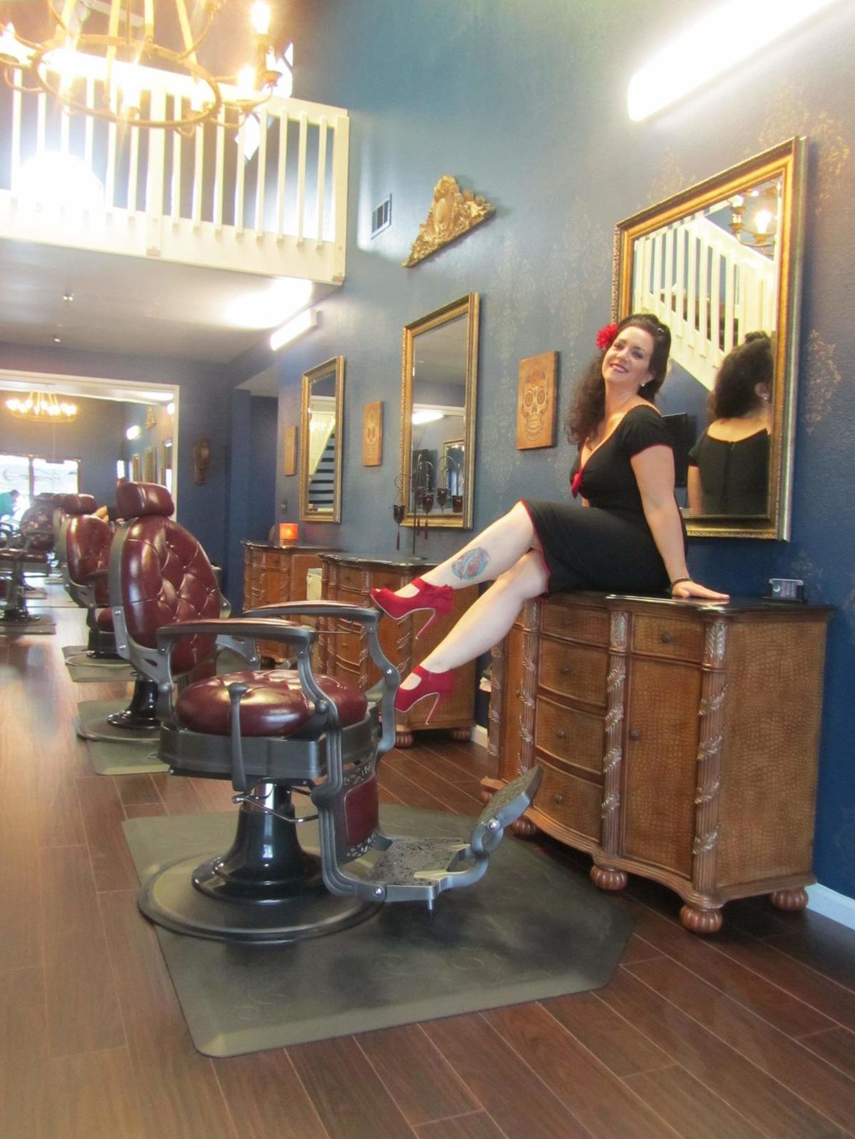 Julie Crisci is the owner of Napa's Moonlight BarberShop.
