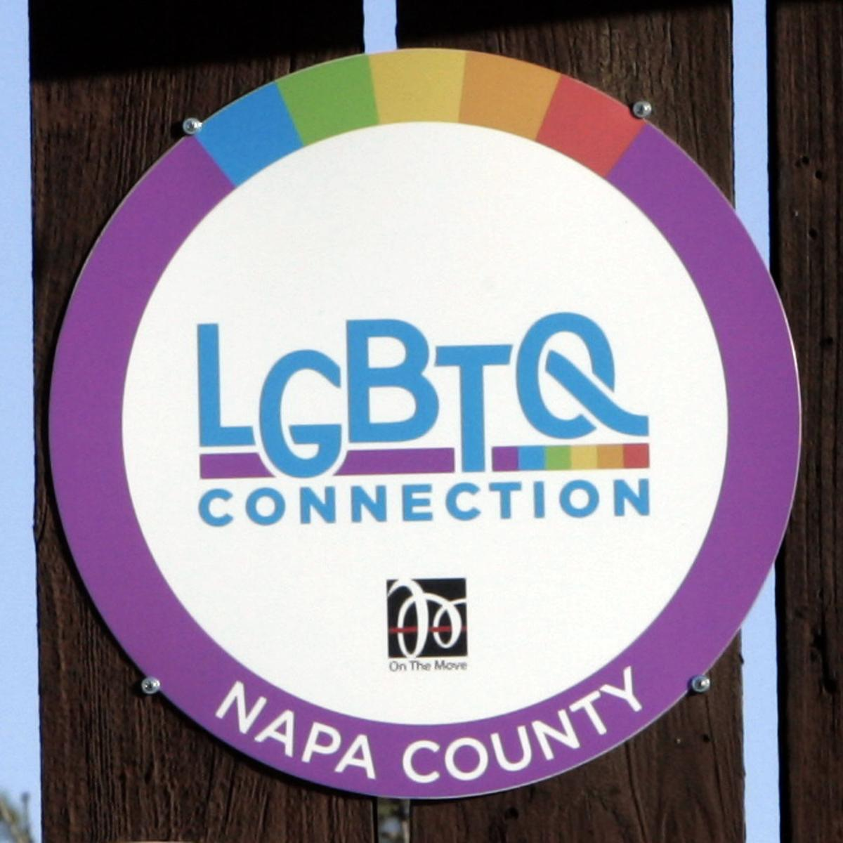 LGBTQ Connection Logo Plaque