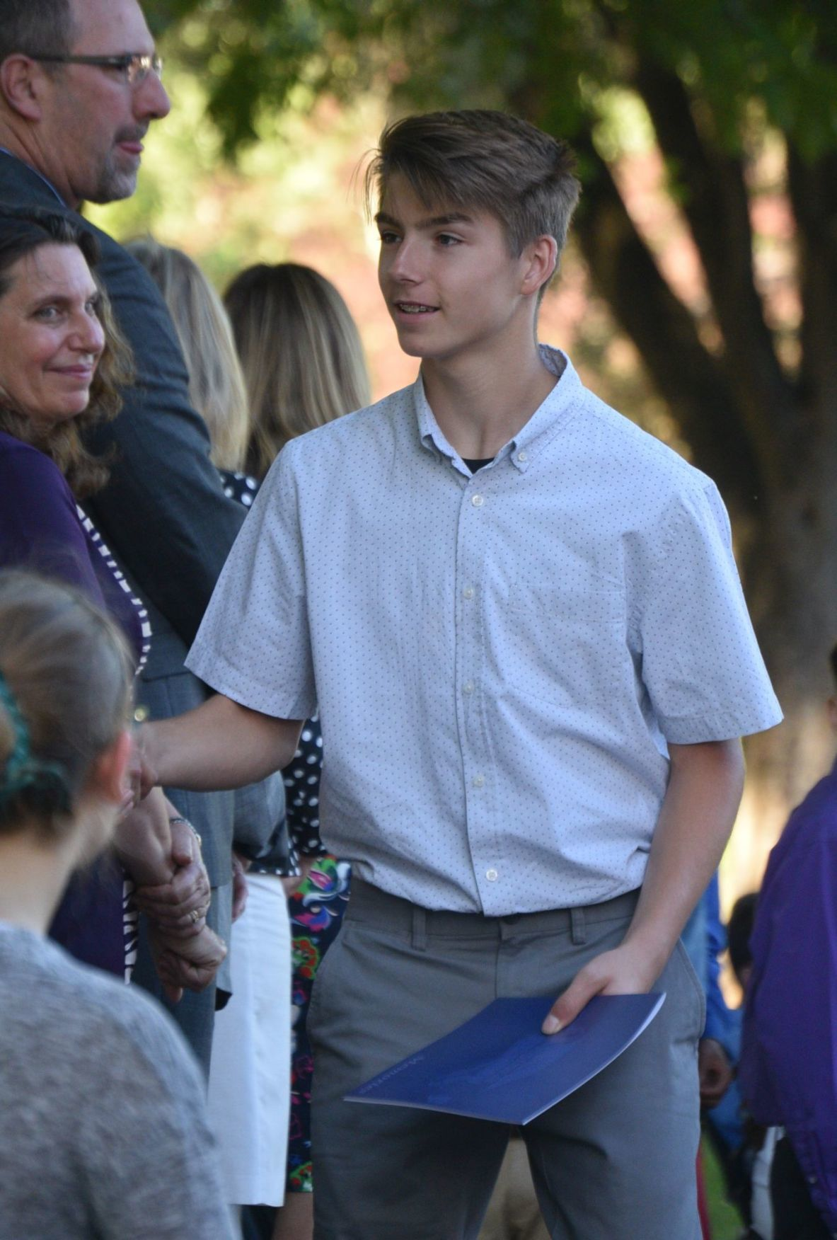 St  Helena's eighth-graders promoted to high school | News