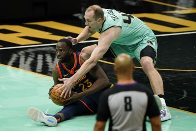 Warriors Hornets Basketball