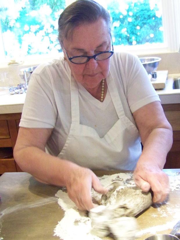 Gisella kneading