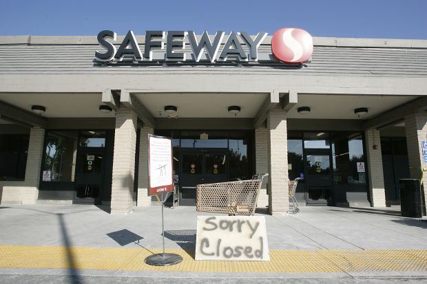Safeway Equipment Moved Out Downtown Store Remains Closed Local