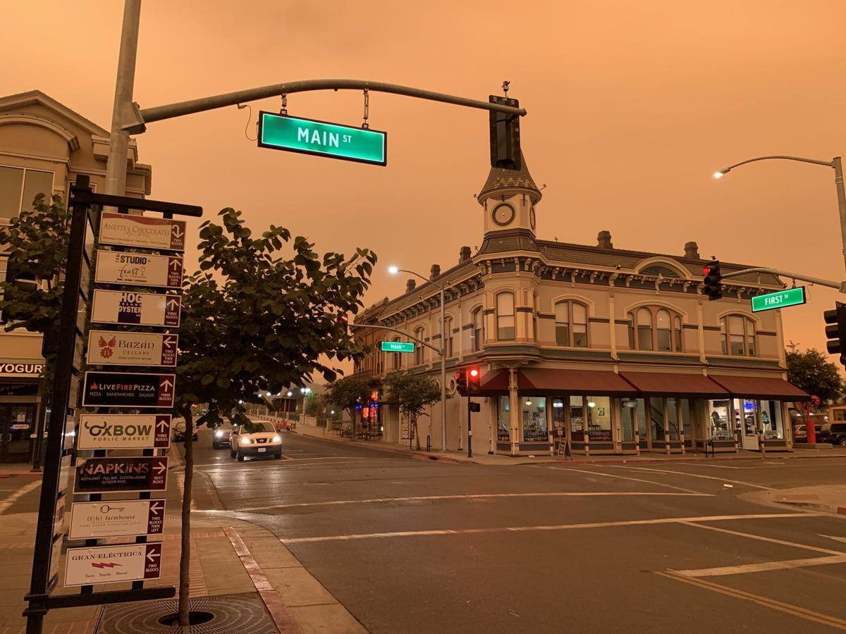 An orange, 'Martian' sky hangs over Napa. Here's why | Local News |  napavalleyregister.com
