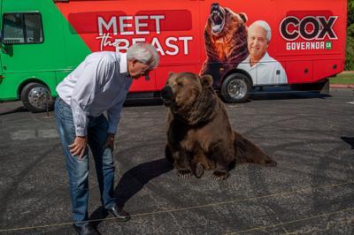 John Cox and the bear