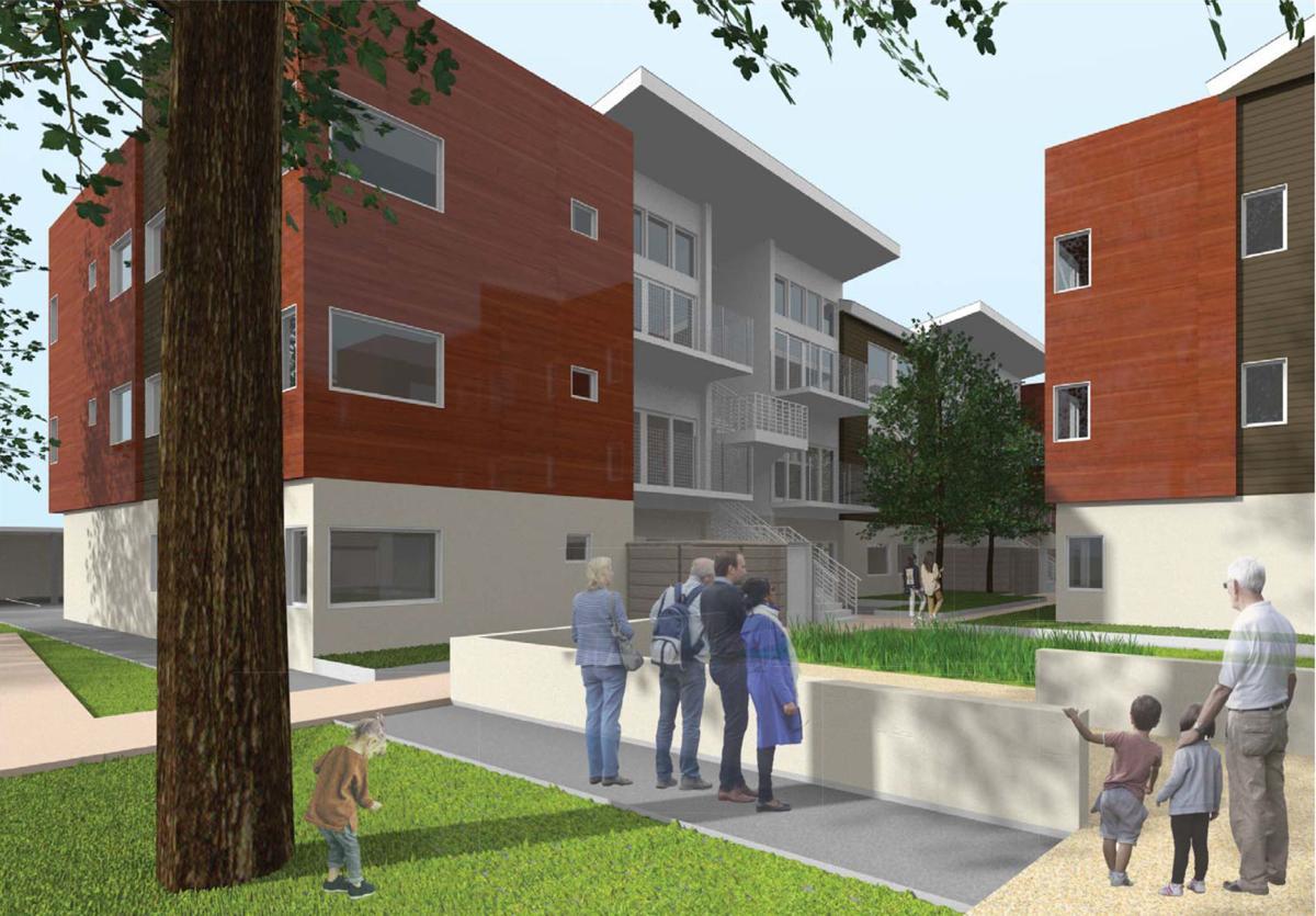 First Street Apartments II, Napa