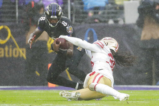4th-down plays doom 49ers in loss to Ravens