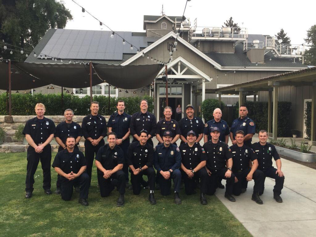 Strike team on Tubbs fire