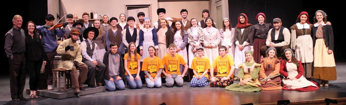 "Cast and crew of ""Fiddler on the Roof"""