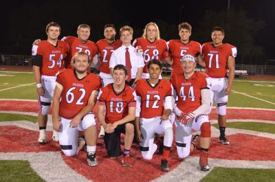 St. Helena football seniors