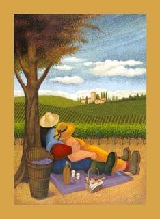 Lowell Herrero - Village Harvest | Artist- Lowell Herrero ... |Sunflower Harvest Lowell Herrero