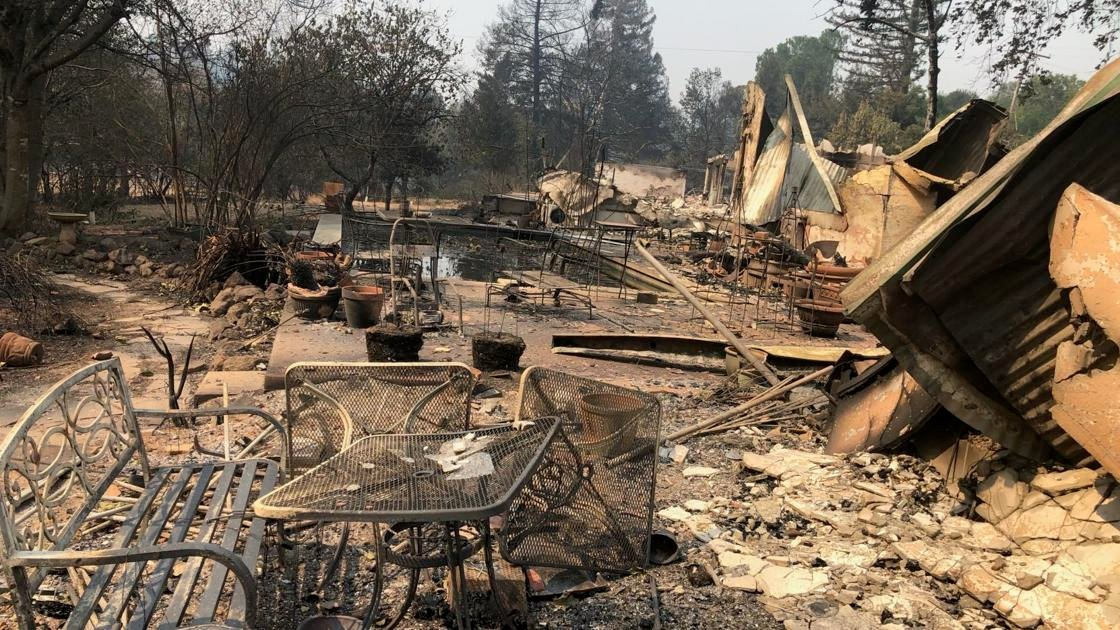 These Deer Park residents lost not one but two family homes in the Glass Fire