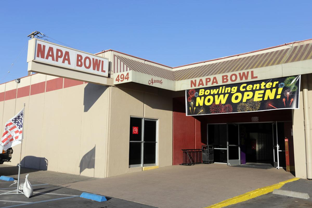 Napa Bowl during the pandemic