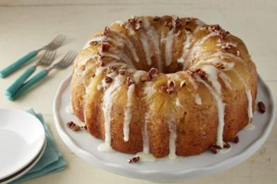 Hummingbird Upside Down Bundt Cake Is So Moist And