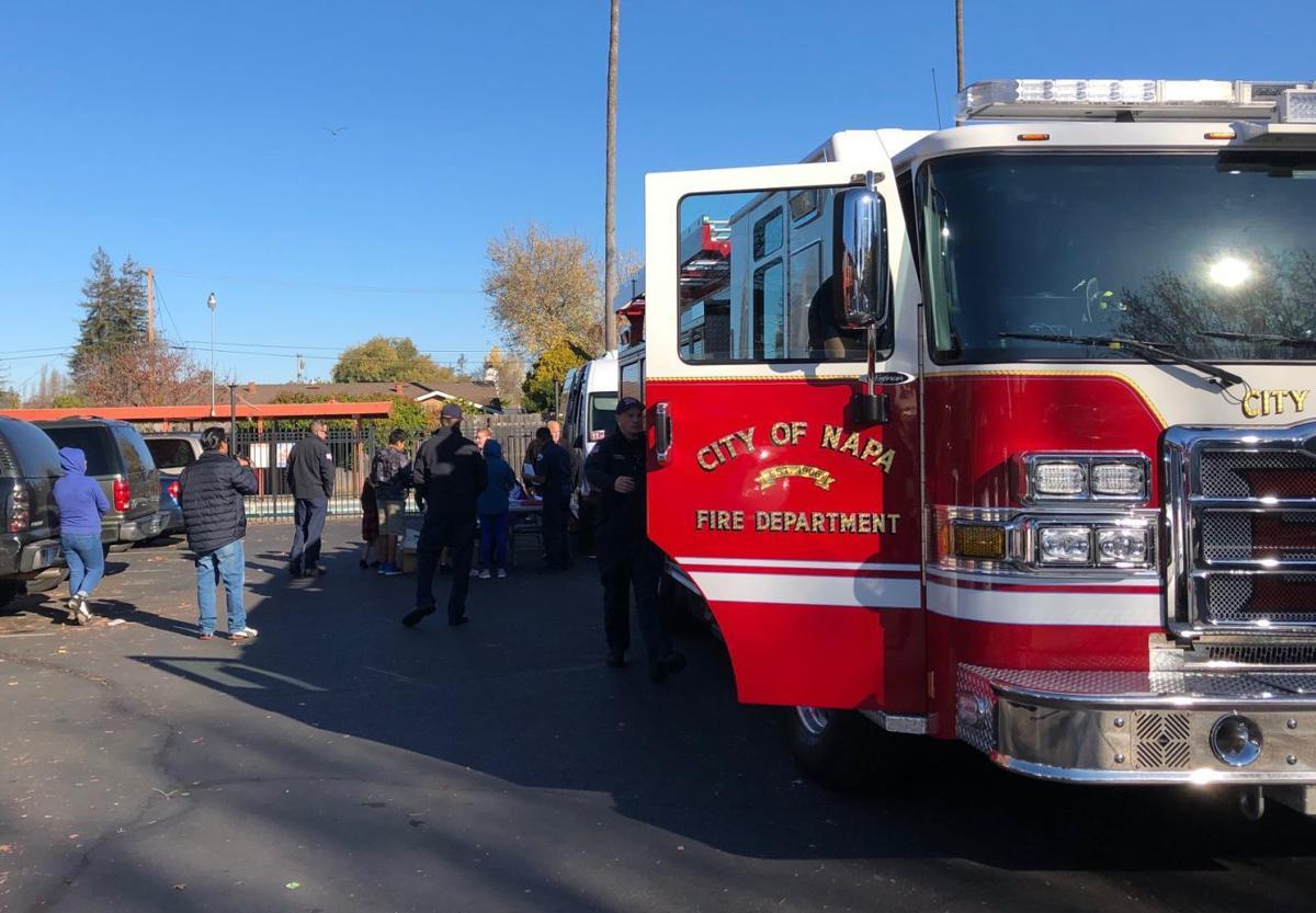 Napa Fire smoke detector check