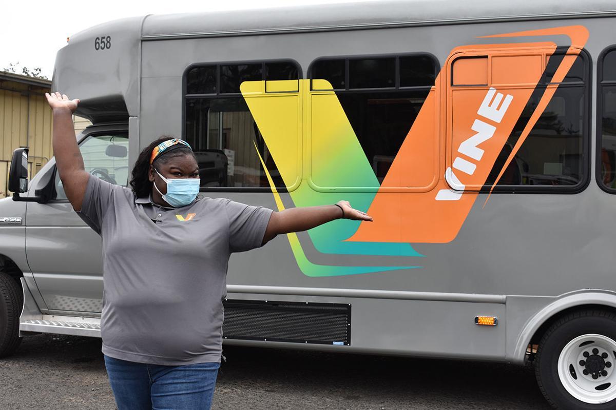 Minerva Thompson Vine Transit driver