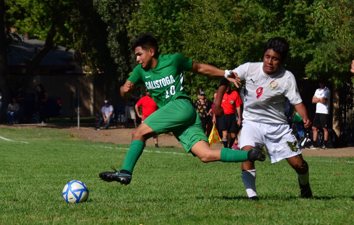 Calistoga High boys soccer