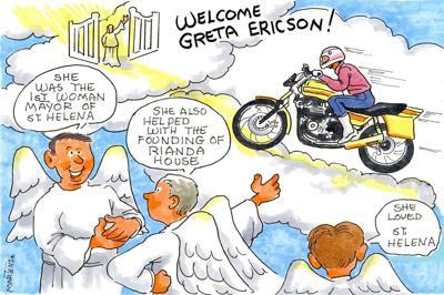 Joan Martens remembers Greta Ericson