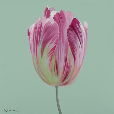 Simon Bull's tulip art