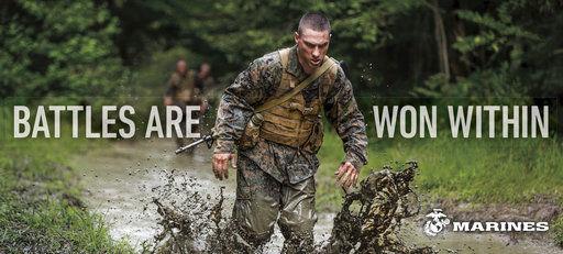 APNewsBreak: New ads show Marines as good citizens, warriors