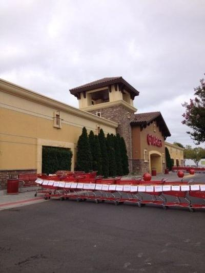 Target red tagged for quake damage
