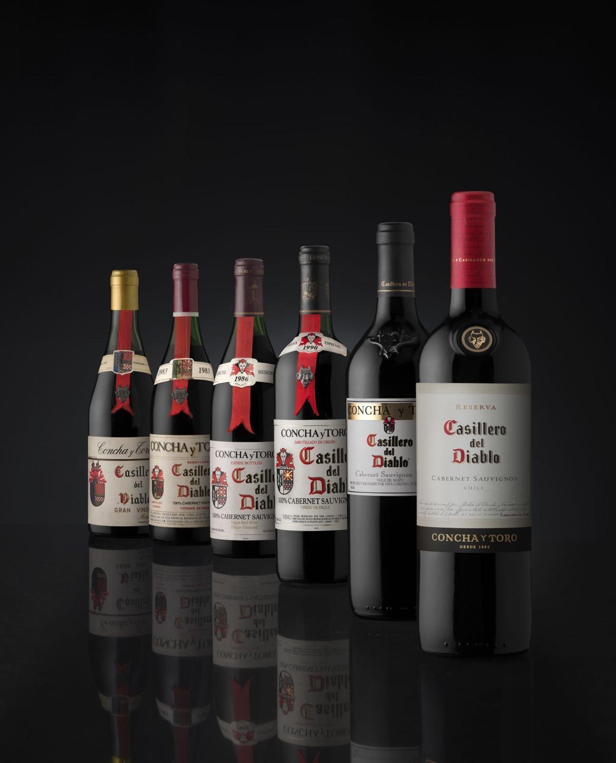 Casillero del Diablo wines