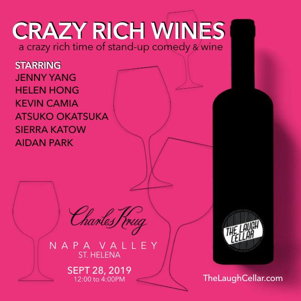 Crazy Rich Wines Flyer