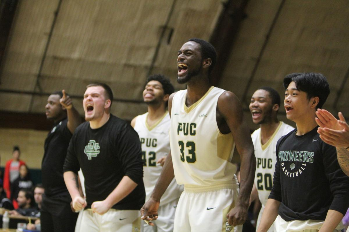 PUC men's basketball