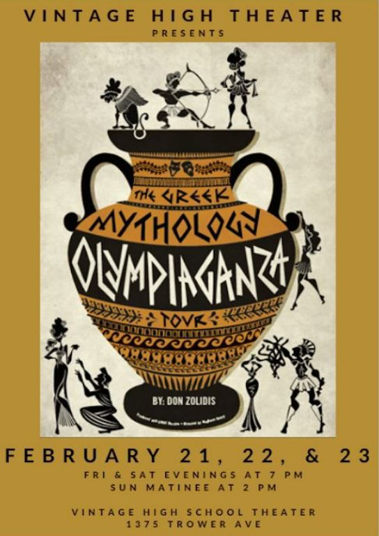 """The Greek Mythology Olympiaganza"""