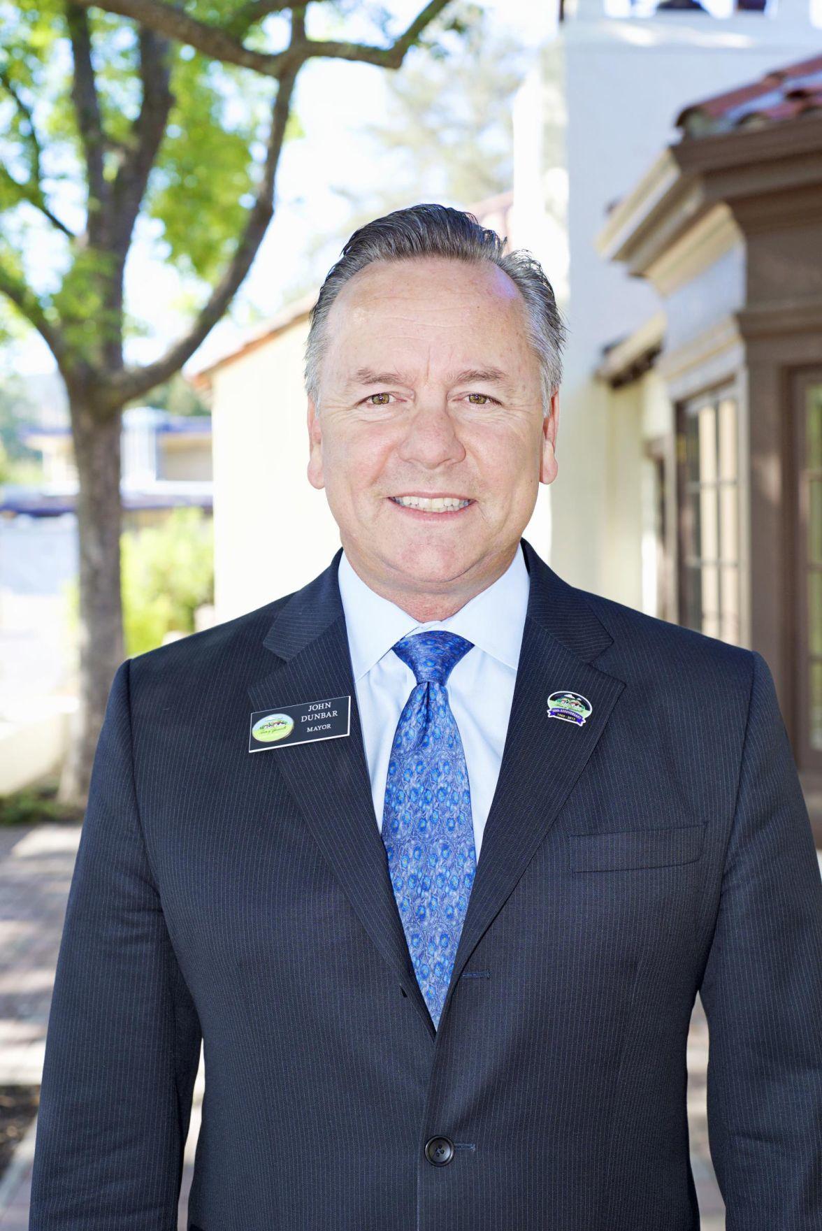 Yountville Mayor John Dunbar