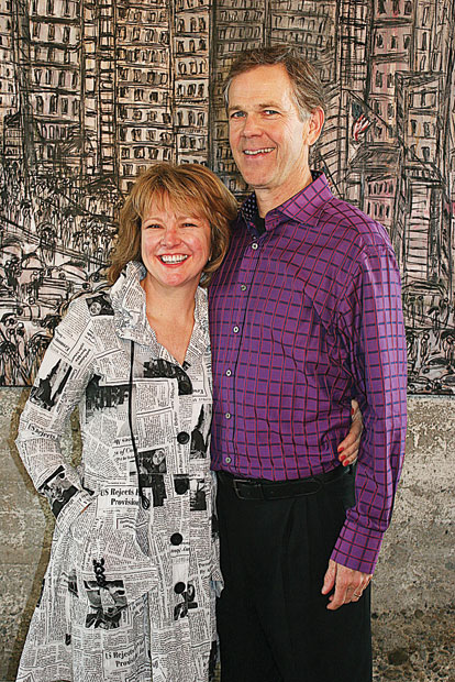 Dirk Fulton and Becky Kukkola