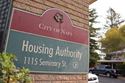 City of Napa Housing Authority sign