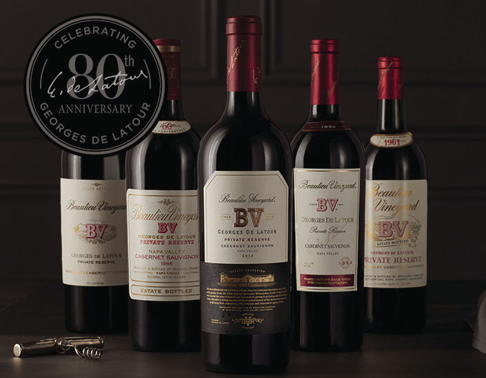 Georges de Latour 80th Anniversary Release Dinner