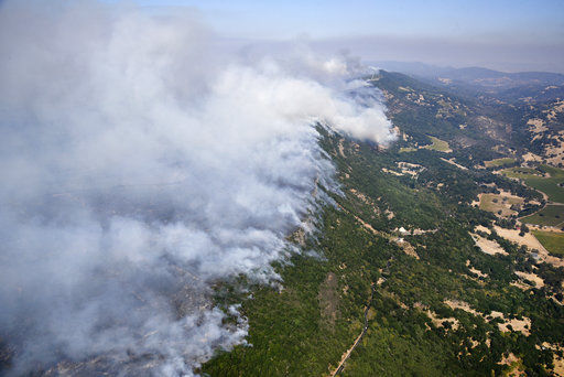 Deadly California wildfires force thousands to evacuate (copy) (copy)