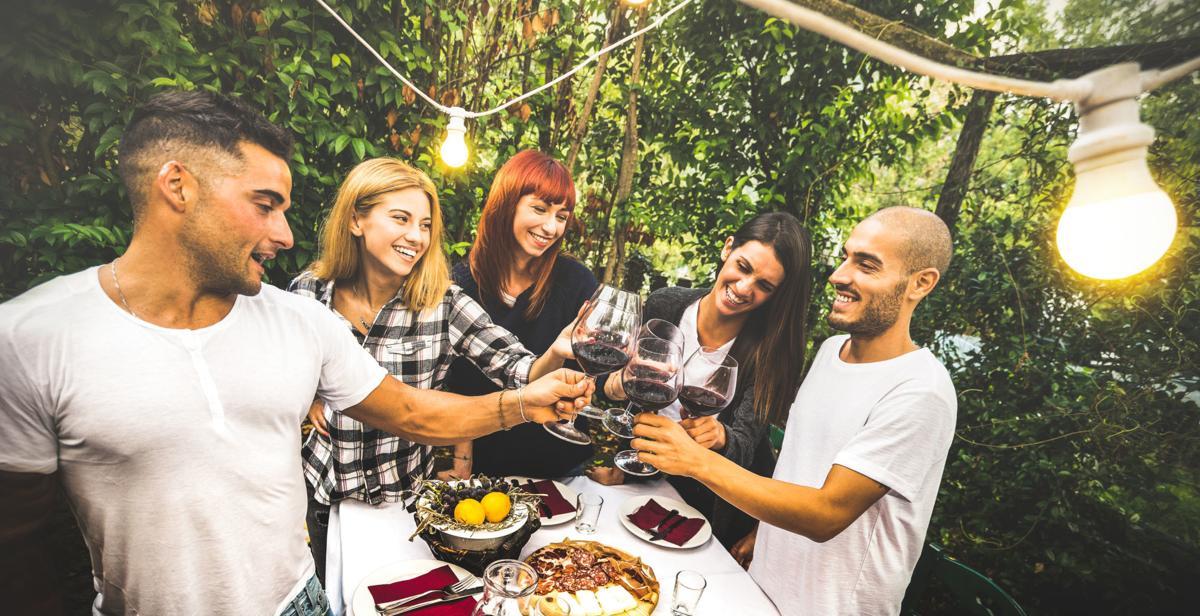 Wine Press - Wine Helps Bring People Together