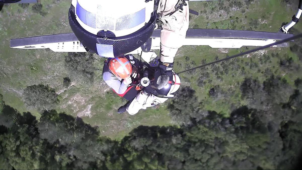 Skyline Park air rescue