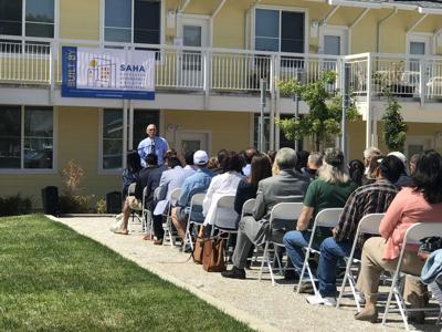 On July 8, the city of American Canyon and Satellite Affordable Housing Associates (SAHA) celebrated the grand opening of Valley View Senior Homes.