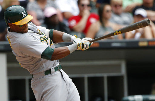 Khris Davis and Athletics agree to $10.5M, 1-year contract
