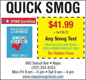 Quick Smog Coupon