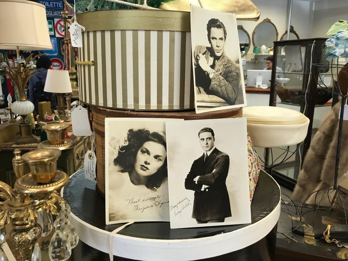 Vintage items for sale at Antiques on Second.