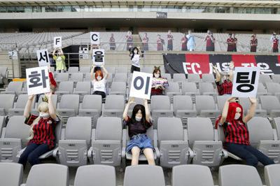 FC Seoul faces sanctions after putting sex dolls in seats