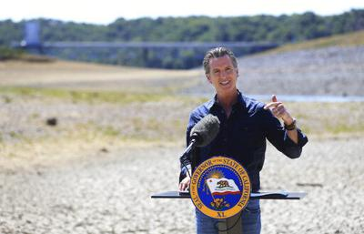 Governor asks Californians to voluntarily cut water use