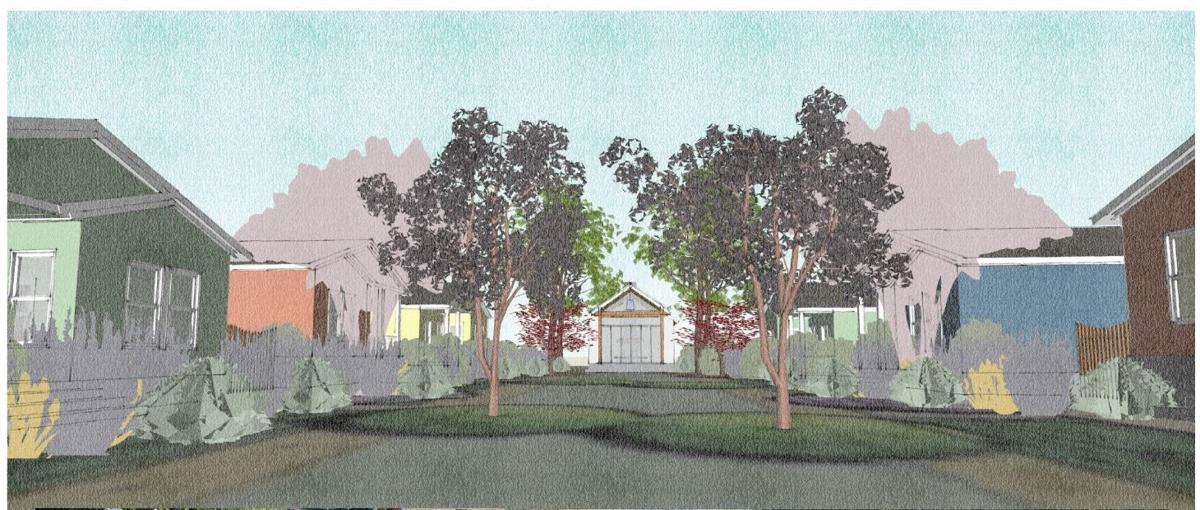 Justin-Siena high school would like to build eight single family cottages at its north Napa campus.