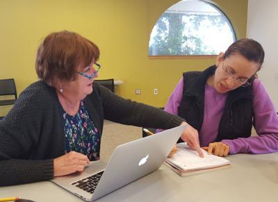 Ann Tabor Cecilia Zepeda library adult literacy program