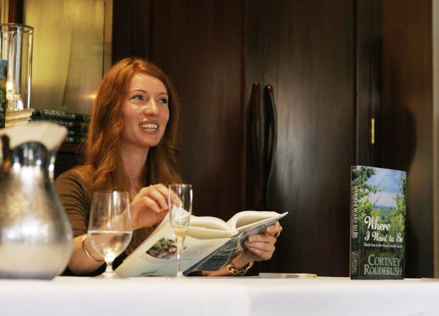 Female authors at Domaine Chandon